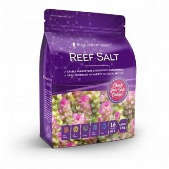 Sól morska Aquaforest Reef Salt 2kg