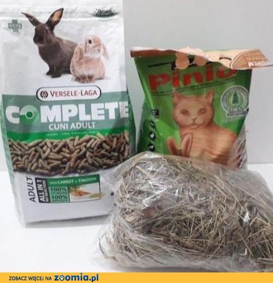 Pokarm dla królika: Versele-Laga 1,75kg + granulat Pinio 5L
