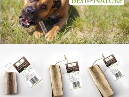 Gryzaki dla psów z poroży jeleni ;#8211; zdrowe z natury ;#8211; wersja ;#8222;soft;#8221; (rozmiar:   Pozostałe cała Polska