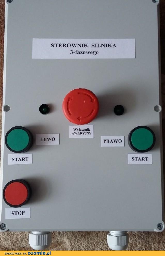 Sterownik silnika 3 fazowego np. do zgarniacza obornika