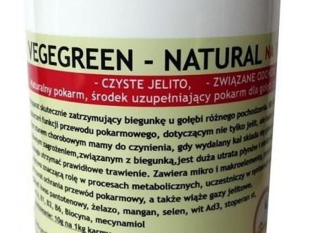 Vegegreen - natural 300g NA BIEGUNKĘ dla gołębi