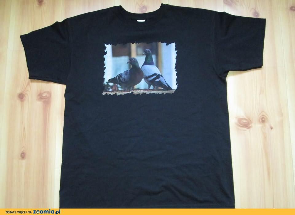 Koszulki dla hodowców gołębi z nadrukiem