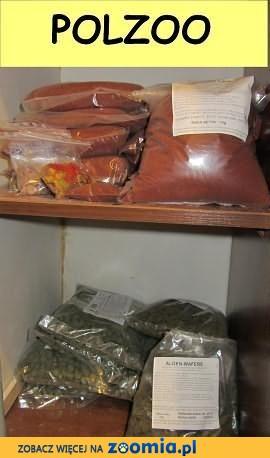 Pokarmy dla ryb akwariowych na wagę od polskich producentów
