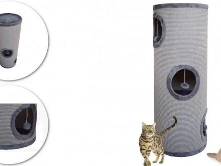 Drapak dla kota typu tuba szara 100 cm