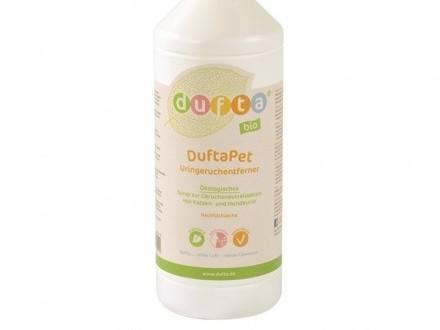 «DuftaPet» BIO środek do usuwania zapachu moczu kotów i psów (Koncentrat 1:5)