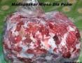 'Mięso karma mrożona dla psów psa kota wołowina serca wołowe bez konserwantów