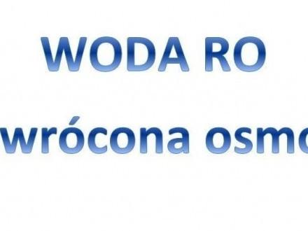 Woda RO (Odwrócona osmoza)