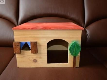 Duży domkek dla królika świnki morskiej  dużego jeża pigmejskiego jeż
