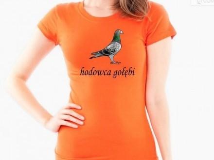 Koszulki damskie dla hodowców gołębi