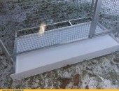 Klatka, woliera alumoniowa dla papug, gryzoni