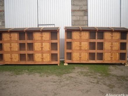 klatka klatki dla królików drewniana 12 komorowa i inne