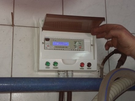 Sterownik doju do myjki udojowej dojarki udoju, mycie, montaż, wymiana
