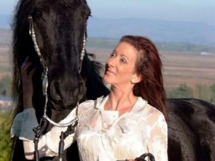 Koń fryzyjski, ładna 4-letnia klaczka potrzebuje nowego domu,  łódzkie Bełchatów