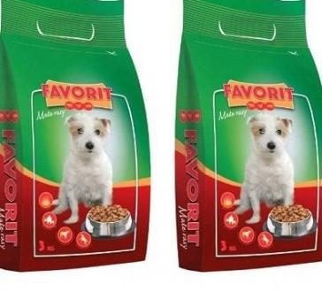 FAVORIT MAŁE RASY 6 kg sucha karma dla psów