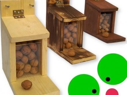 karmnik dla wiewiórki spiżarka na orzechy