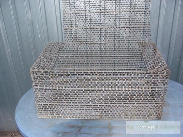 Klatki metalowe na króliki 80x46x35