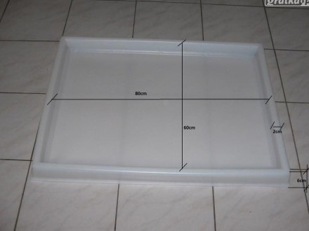 Kuweta plastikowa 80x60x6cm