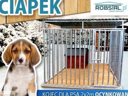 Kojec dla psa CIAPEK 2x2m kojce dla psów klatka legowisko