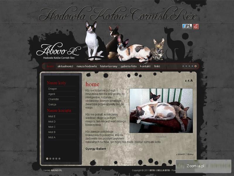 Profesjonalne projektowanie stron www hodowli