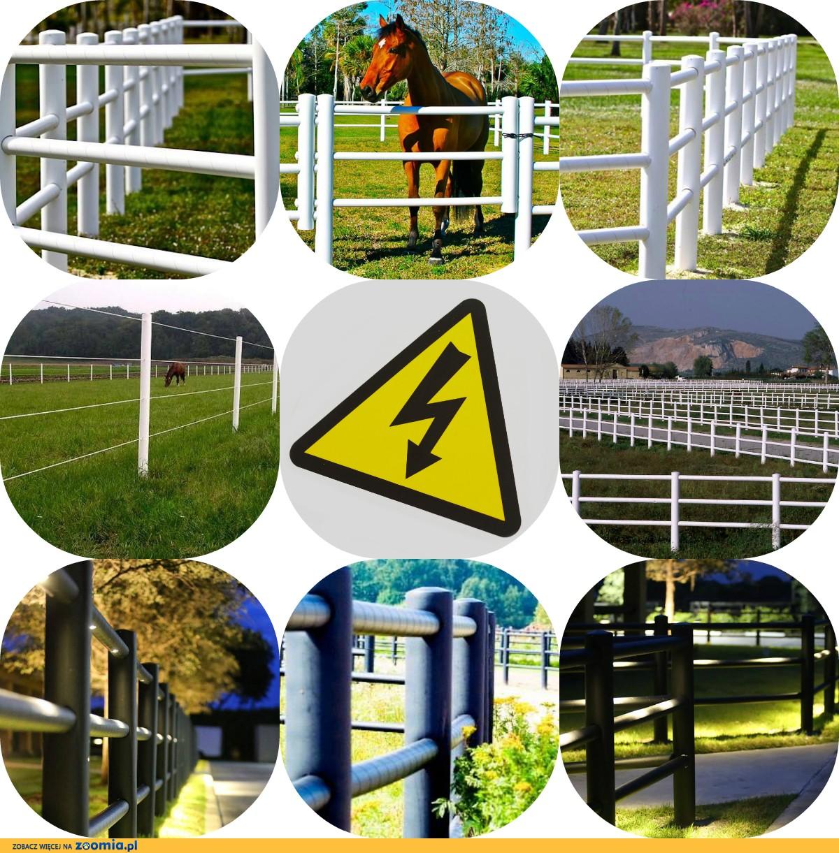 Equisafe - ogrodzenia elektryczne dla koni, hdpe, pastuch