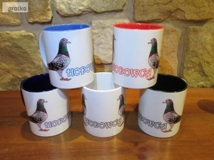 Kubki dla hodowców gołębi  prezent  upominek  gadżet