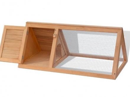 vidaXL Klatka dla królików  drewniana 170345