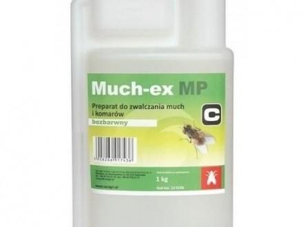 Muchex MP na Gzy  Muchy  Meszki preparat na skórę Krowy  Konie - 1 kg