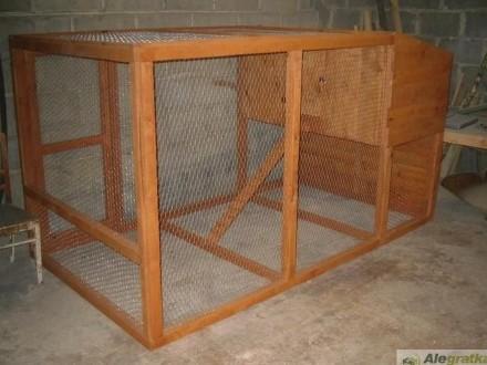mega klatka dla królikow 9 komorowa