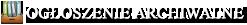 Archiwum Ogłoszeń